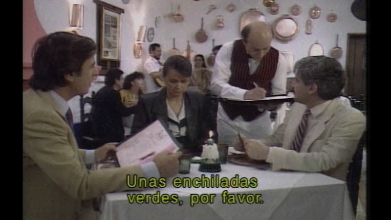 Still image from Destinies: An Introduction To Spanish (Lessons 41-42) (Spanish)