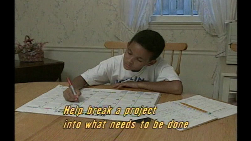 Still image from Successful Parenting: Taming The Homework Monster