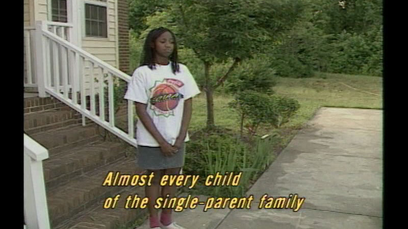 Still image from Successful Parenting: The Single Parent Family:  A Challenge For Children