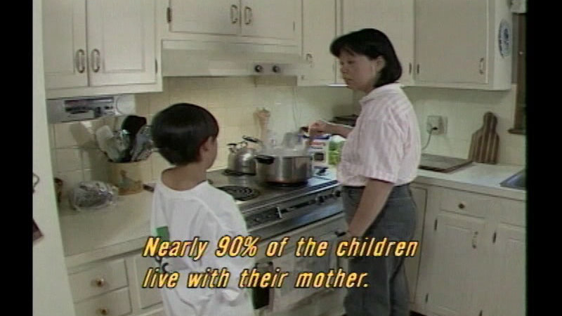Still image from Successful Parenting: The Single Parent Family:  A Challenge For Parents