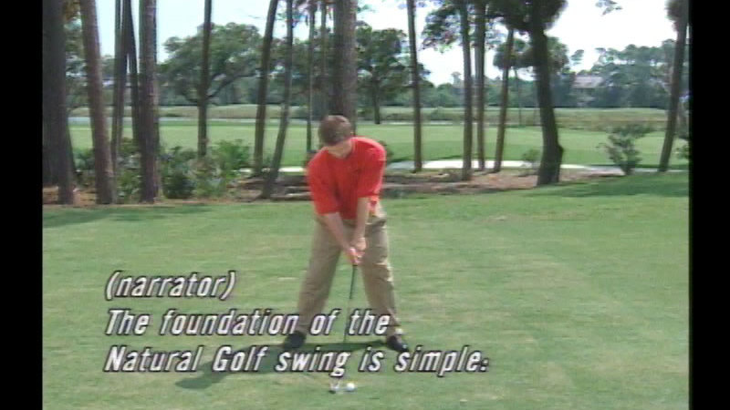 Still image from Natural Golf: The Setup