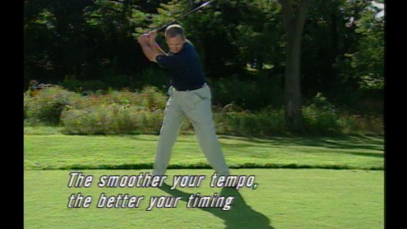 Still image from Natural Golf: The Swing