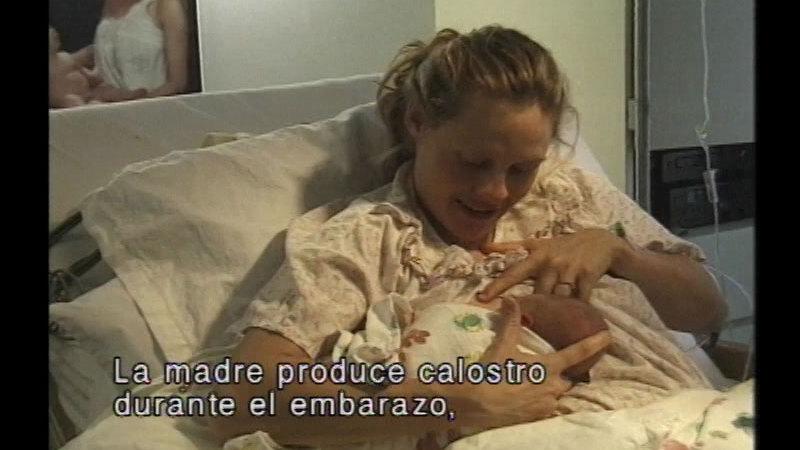Still image from 14 Steps To Better Breastfeeding (Spanish)