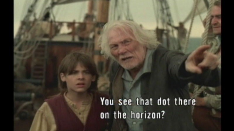 Still image from Treasure Island