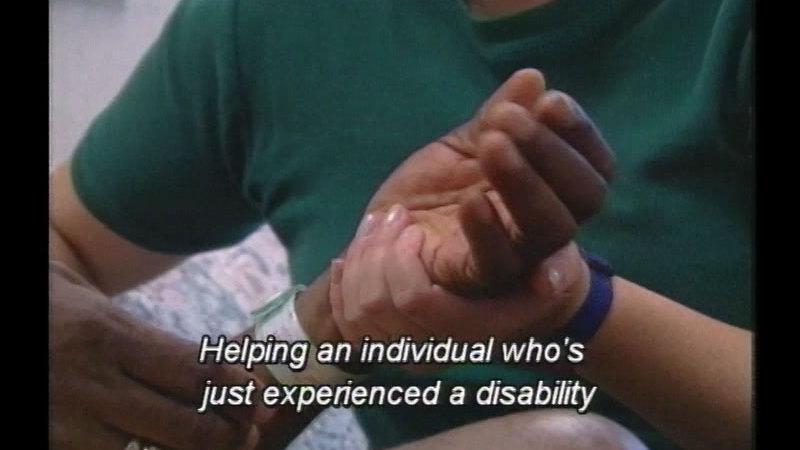 Still image from Rehabilitation