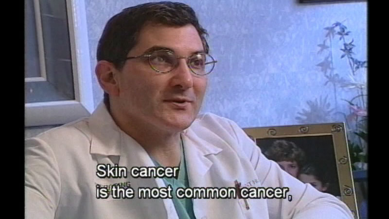 Still image from Skin Cancer