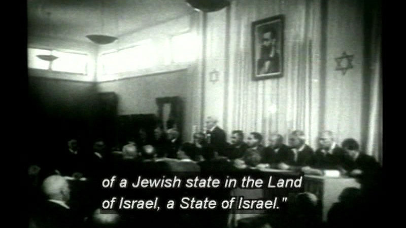 Still image from To Realize A Dream: 100 Years Of Zionism