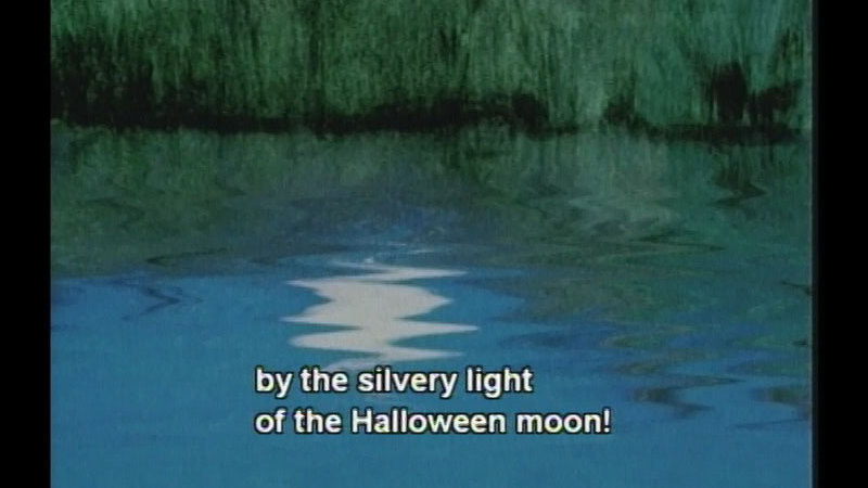 Still image from By The Light Of The Halloween Moon