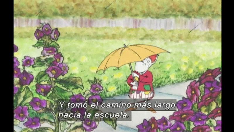 Still image from Chrysanthemum (Spanish)