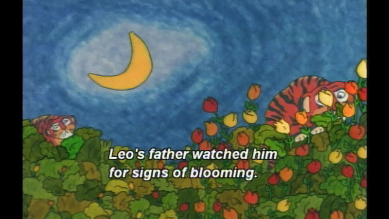 Still image from Leo The Late Bloomer