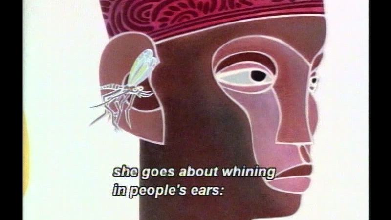 Still image from Why Mosquitoes Buzz In People's Ears