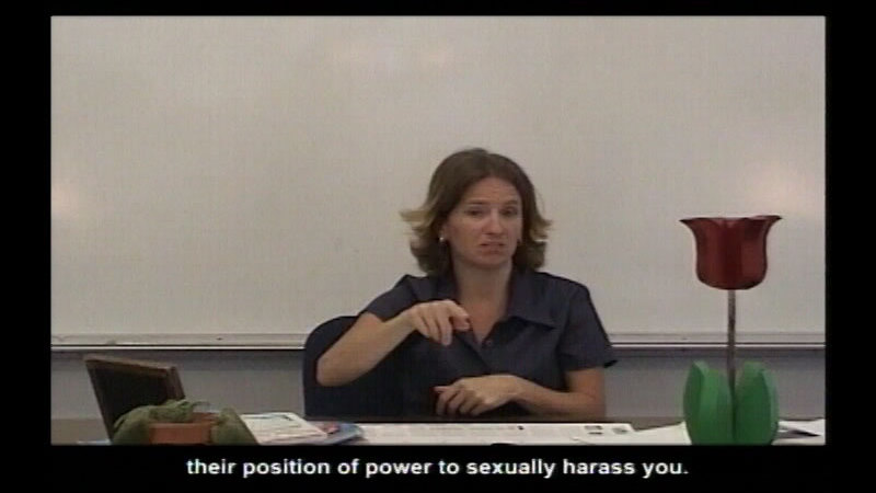 Still image from Sexual Harassment Prevention