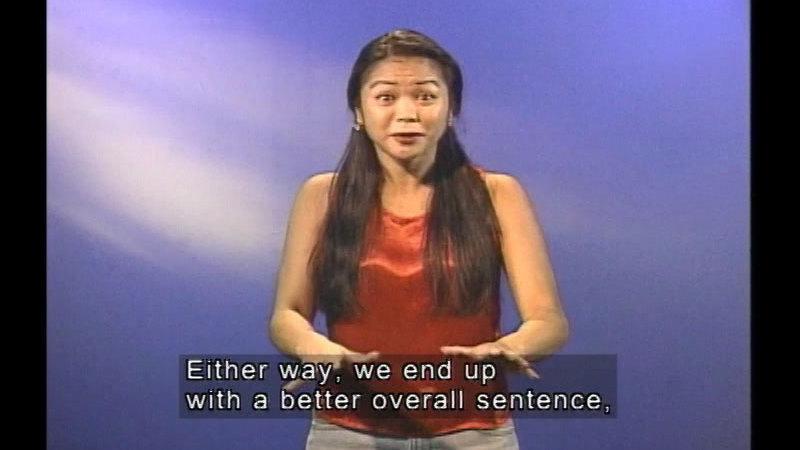 Still image from The Split-Infinitive World Of English Grammar: Program 6