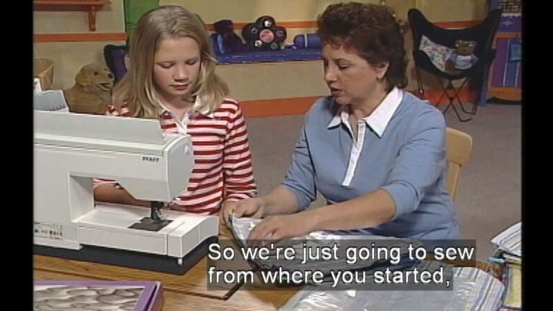 Still image from Sew Young, Sew Fun: Program #411