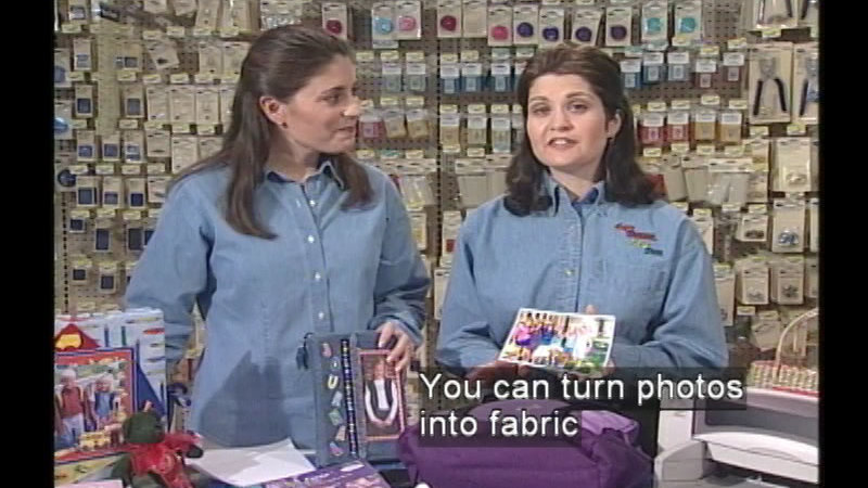 Still image from Sew Young, Sew Fun: Program #403