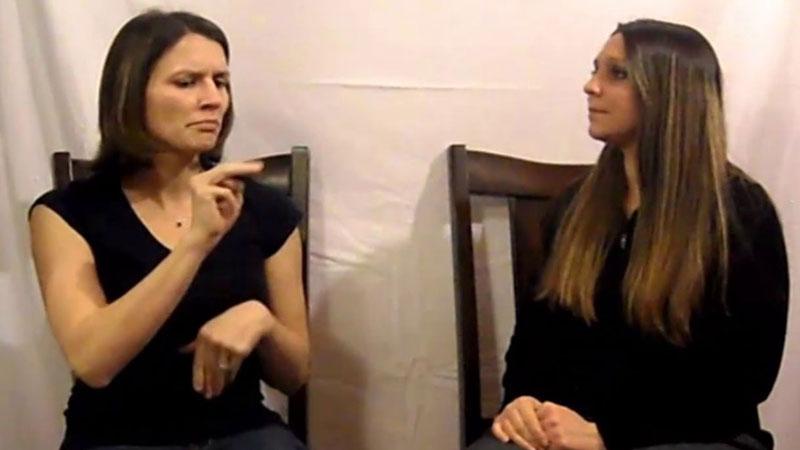 Still image from 1000 ASL Faces