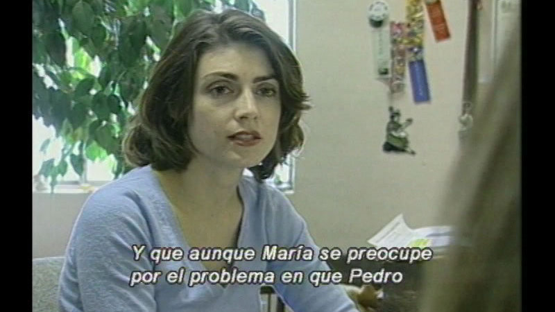 Still image from Safe And Strong Sexual Assault: Victim Witness (Spanish)