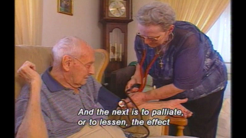 Still image from Successful Aging: Palliative Care