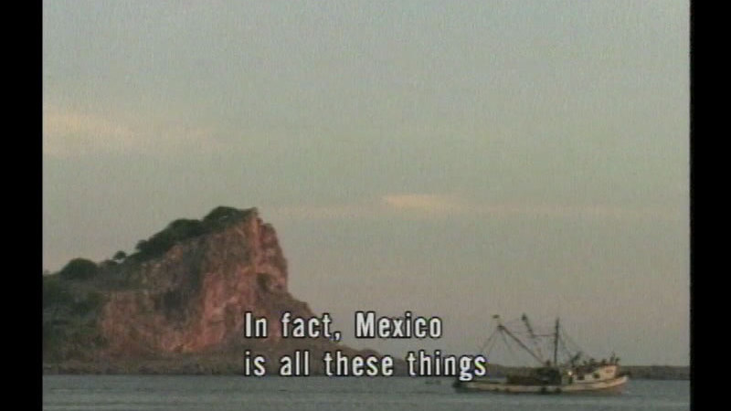 Still image from Mexico: Its Land, Resources & Economy