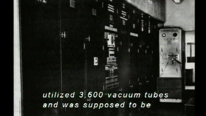 Still image from The History Of Computers