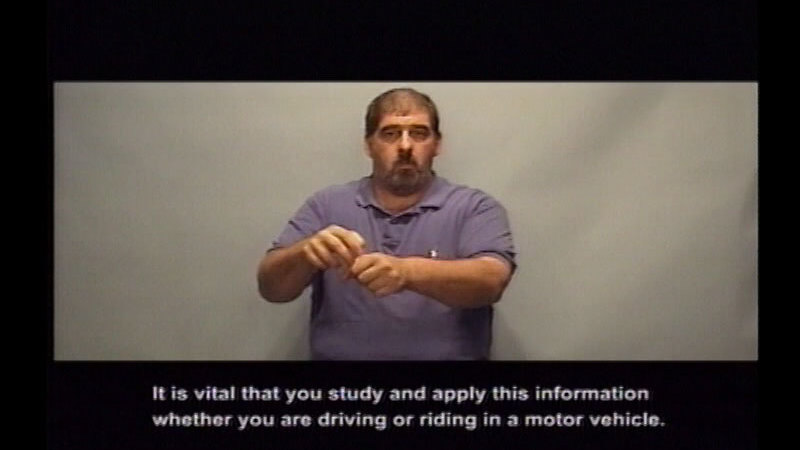 Still image from Driver's Education : Part 14--Keeping You And Your Passengers Safe