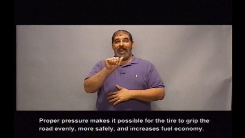 Still image from Driver's Education:  Part 5--Driving With Natural Forces
