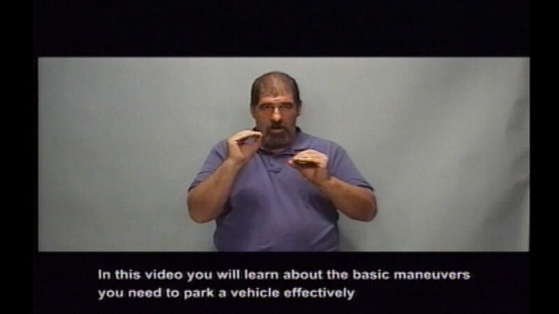 Still image from Driver's Education:  Part 7--Parking Your Vehicle