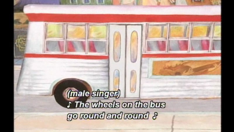 Still image from The Wheels On The Bus