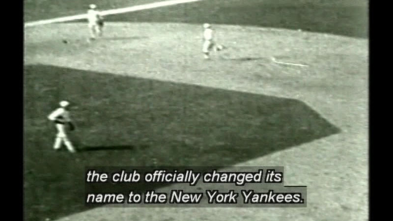 Still image from Dynasty: Yankees