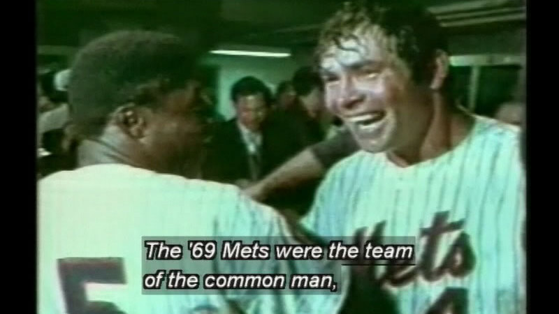 Still image from The Greatest Season: The 1969 World Champion New York Mets