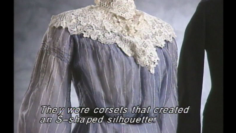 Still image from Fashion Frenzy 100 Years Of Clothing History