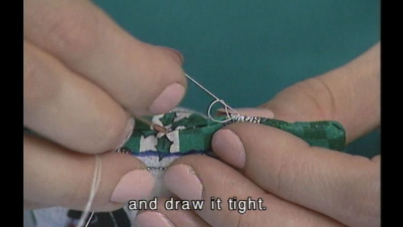 Still image from Sew Cool Productions: The Basics Of Sewing