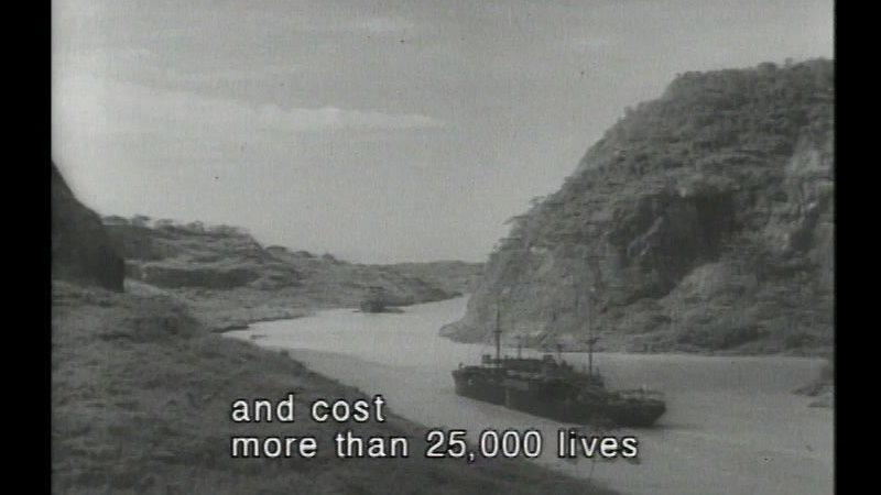 Still image from Building The Panama Canal