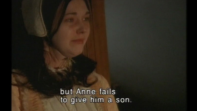 Still image from Henry VIII & Anne Boleyn