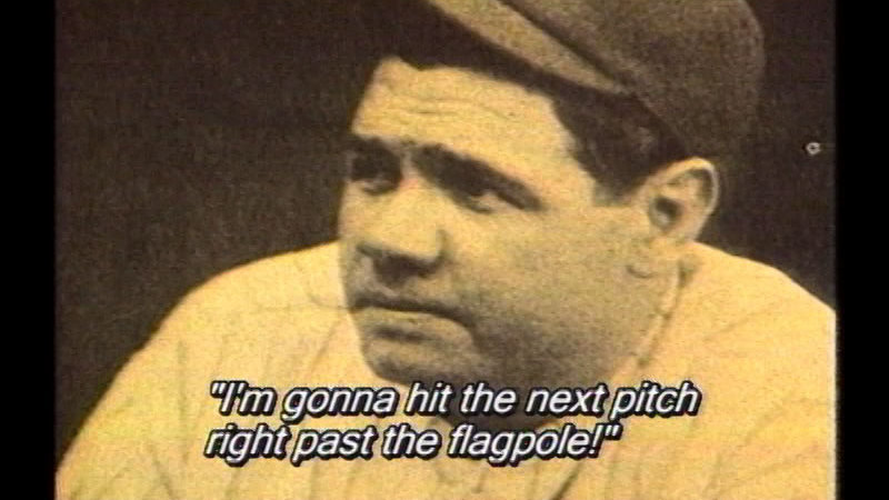 Still image from Baseball's Greatest Memories, Myths And Legends