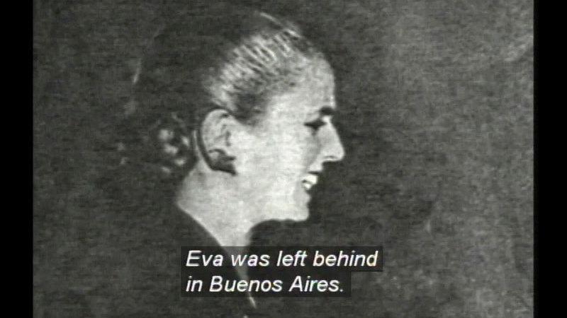 Still image from Evita: The Life Of Eva Peron
