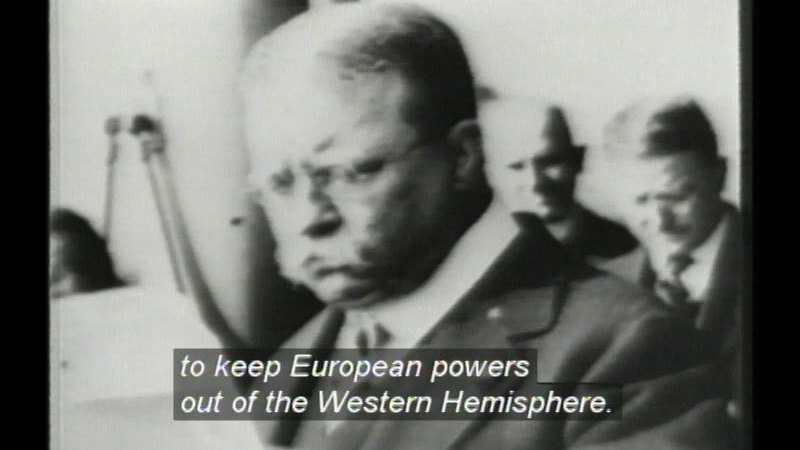 Still image from America In The 20th Century:  America Becomes A World Power