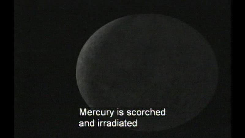 Still image from The Inner Solar System: Mercury