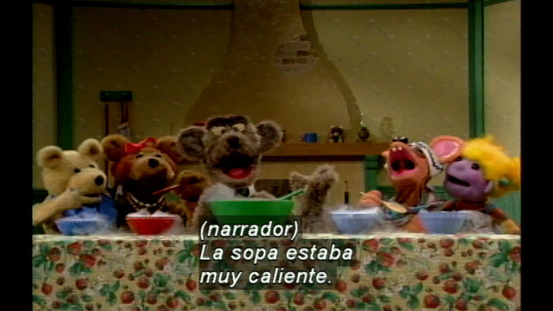 Still image from Salsa 2: Making Soup (Spanish)