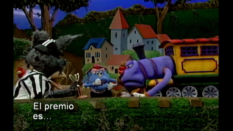 Still image from Salsa 25: The Race (Spanish)