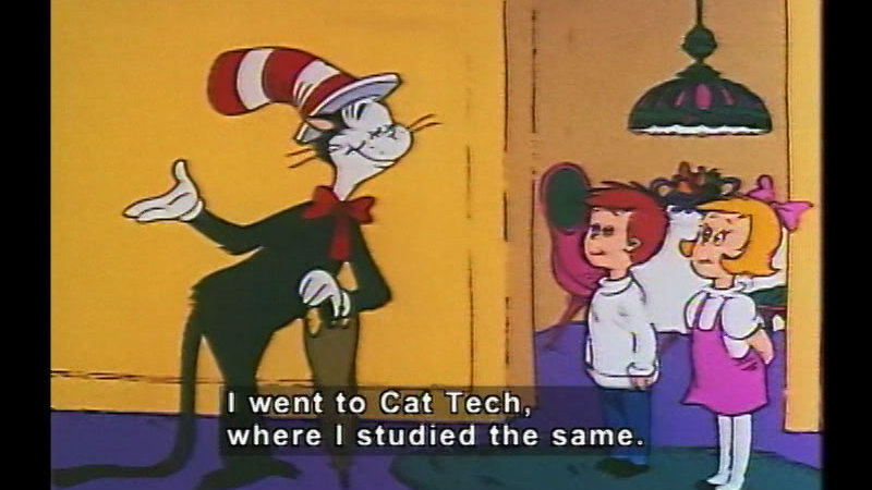 Still image from The Cat In The Hat