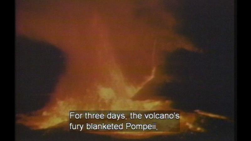 Still image from Pompeii