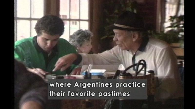 Still image from Argentina
