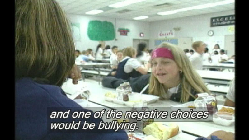 Still image from Defending Yourself: Bullying, Teasing, & Put-Downs