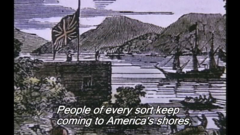 Still image from The Story Of America: Part 1: Forging A Nation