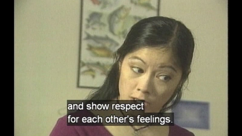 Still image from Student Workshop: Let's Talk About Respect
