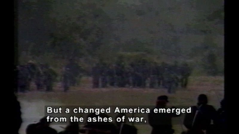 Still image from Critical Issues Of The American Civil War:  Part Three:  How Did The Civil War Change America?