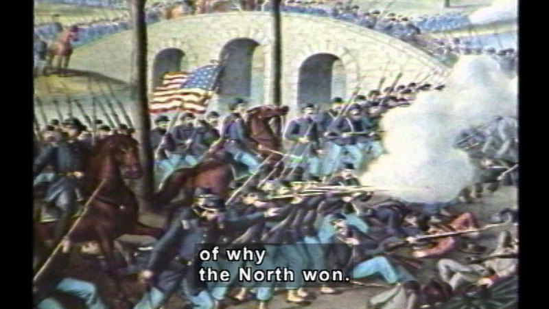 how did the north win the civil war Lee chose to push his army north across the potomac and into and preventing a confederate win on.