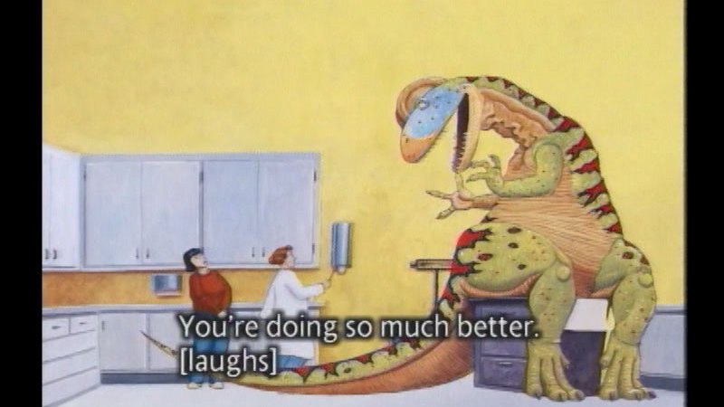 Still image from How Do Dinosaurs Get Well Soon?