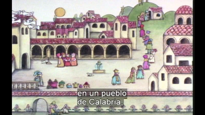 Still image from Strega Nona (Spanish)
